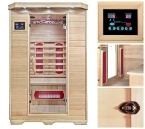 Home Deluxe Infrarotsauna Redsun M Keramikstrahler - PLATZ 1