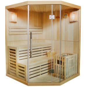 Traditionelle Saunakabine Finnische Sauna Espoo - PLATZ 3